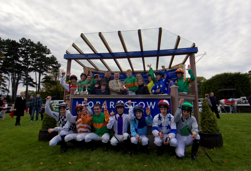 Champion Apprentice Connor King crowned at Leopardstown