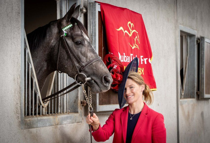 Nina Carberry launches 2018 Dubai Duty Free Irish Derby Festival
