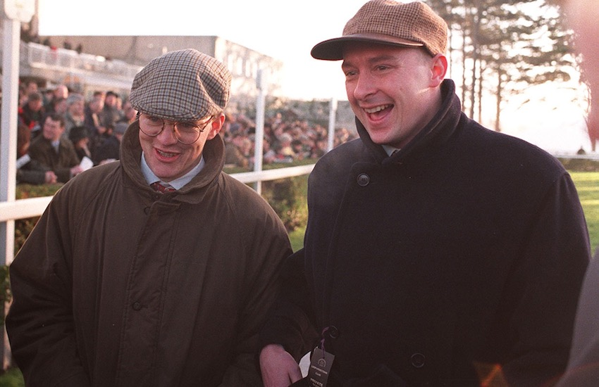 John Durkan and Aidan O'Brien