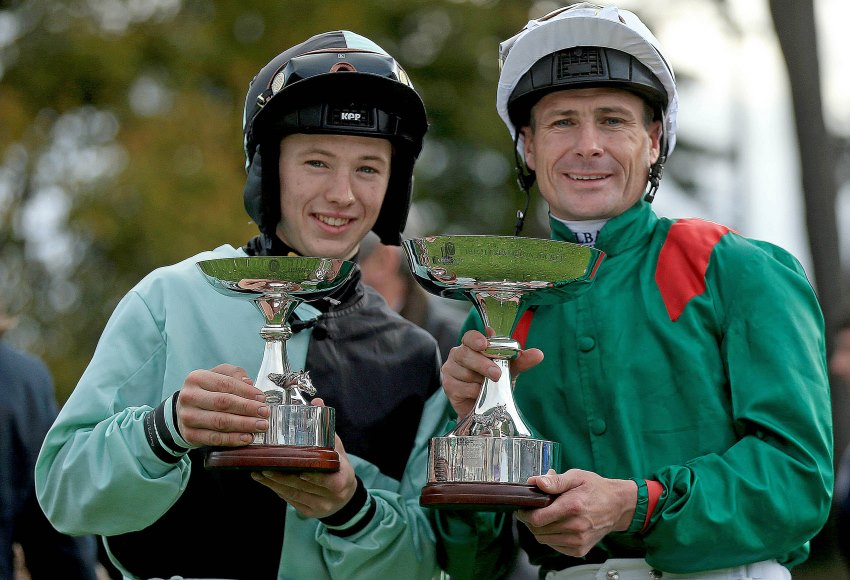 Colin Keane and Pat Smullen